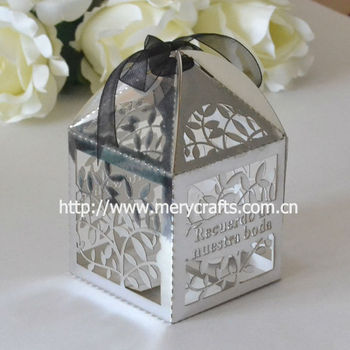 Wedding Souvenirs Wedding Gifts Boxes For Guestspaper Metallic
