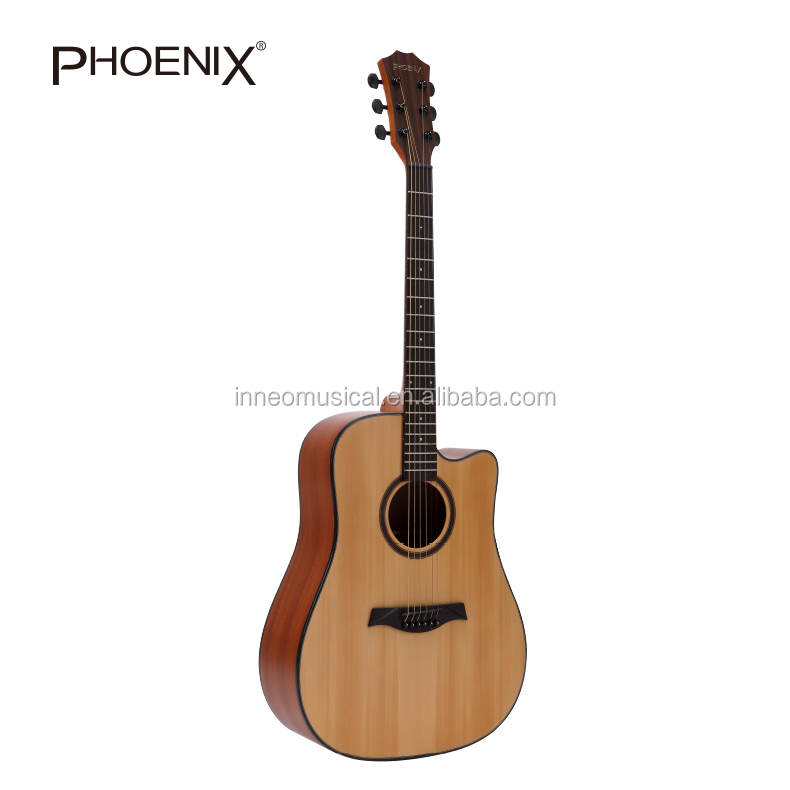 Top Level Solid Acoustic Guitar in China