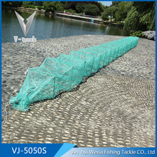 Hefei Supplier folding long warp knitting shrimp fish traps