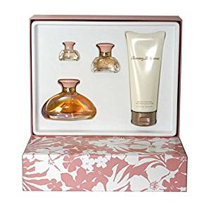 Tommy Bahama By Tommy Bahama For Women. 4 Pc. Gift Set ( Eau De Parfum Spray 3.4 Oz + Eau De Parfum 0.5 Oz + Eau De Parfum 0.18 Oz + Body Lotion 6.7 Oz ).
