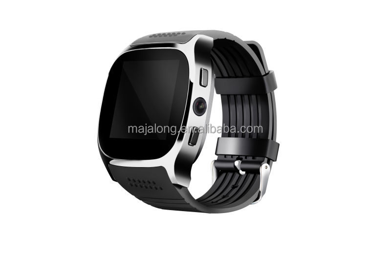 Bluetooth moblie watch with 0.3MP camera support sim card wholesale cheap