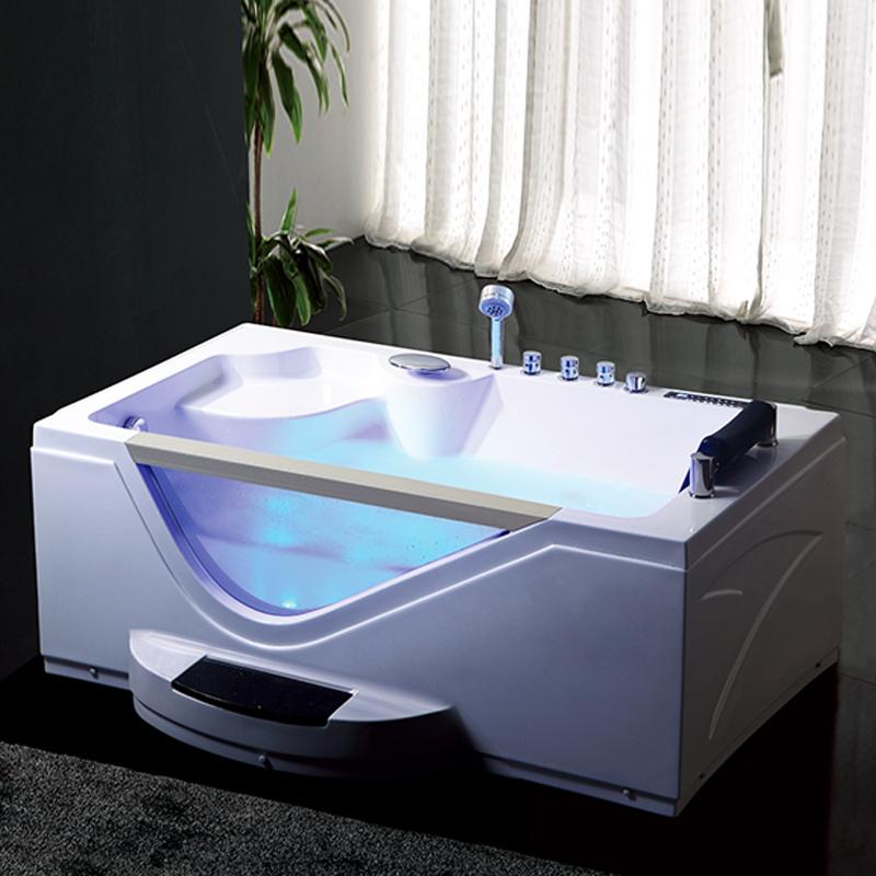 Hs-b257a Single Heated Bathtub,Manual Massage Bathtub,1600 Bath ...