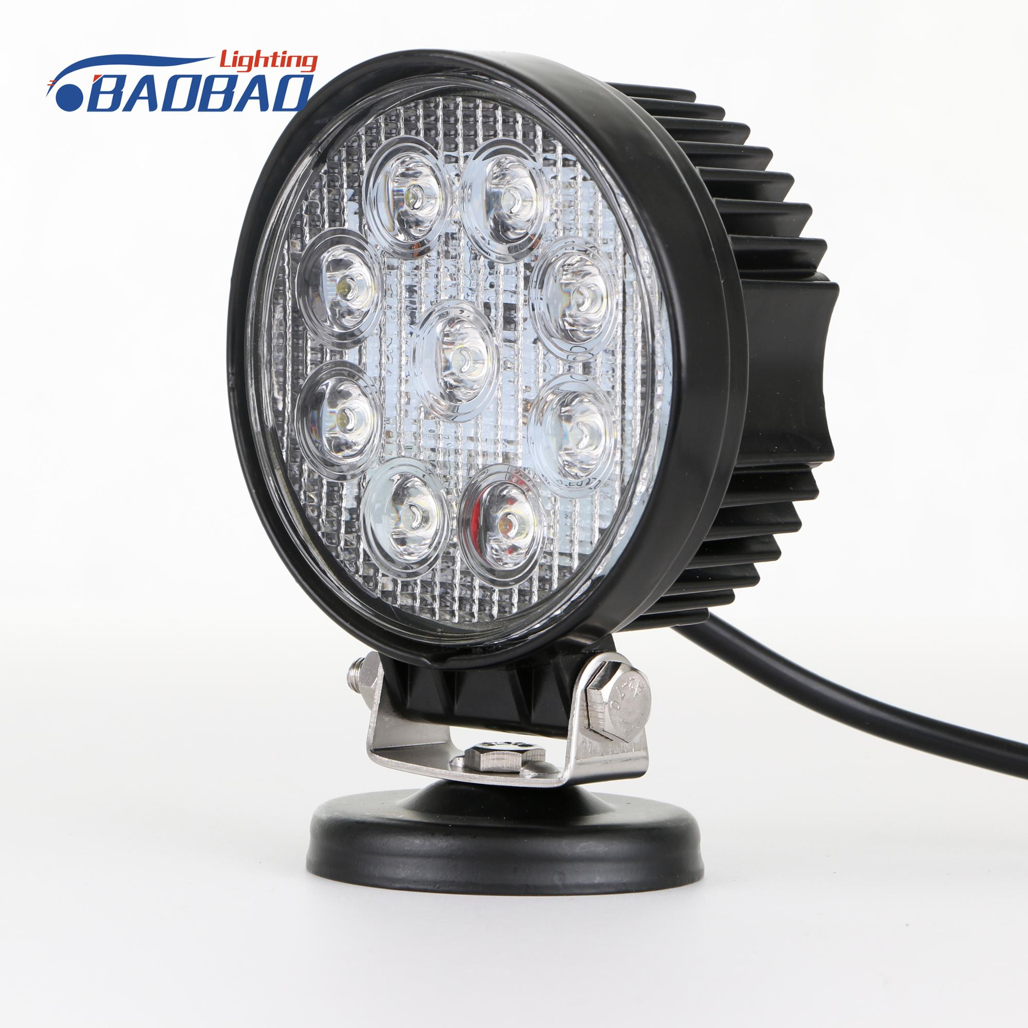 27W Factory Wholesale Auto Parts Led Work Lights, Car Accessories Led Work Light