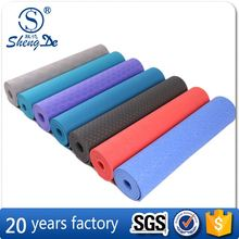 Soft Custom TPE Yoga Mats With Carrying Strap