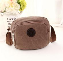 Men Canvas Small Sport Sling Bag Shoulder Bag/message Bag For Travel