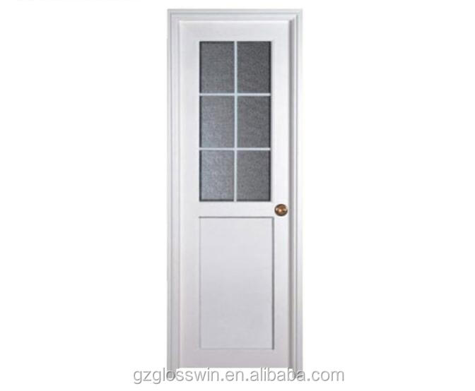 UPVC low price casement door bathroom door and kitchen door