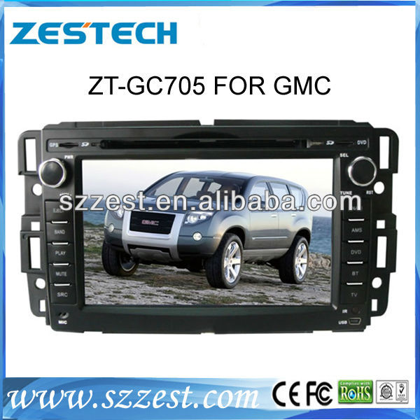 ZESTECH DVD wholesales 2 Din Touch screen Car Audio Navigation for GMC Yukon Chevrolet Tahoe Suburban Equinox Aveo Impala Radio