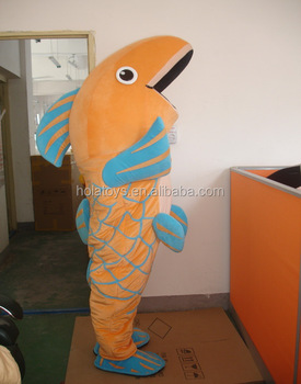Hola Adult Fish Costume For Salemascot Costume For Sale Buy