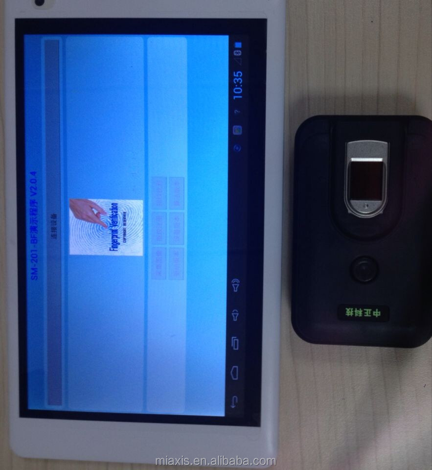 biometric time clock of FTP603 android Tablet PC time clock