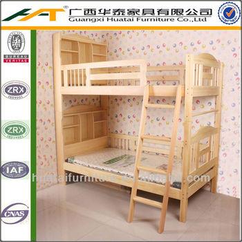 Design Moderne Enfants Lit Superposé En Bois De Pin Massif Lit ...