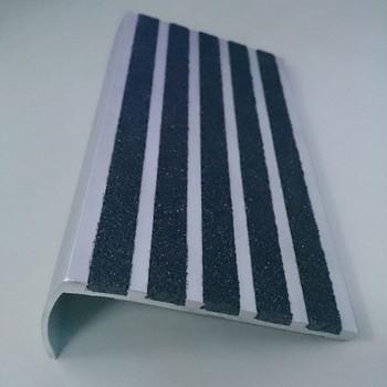 Waterproof Aluminum Curved Stair Nosing In Tiles