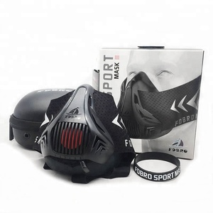 Gym breathing control elevation oxygen deprivation training mask running training mask