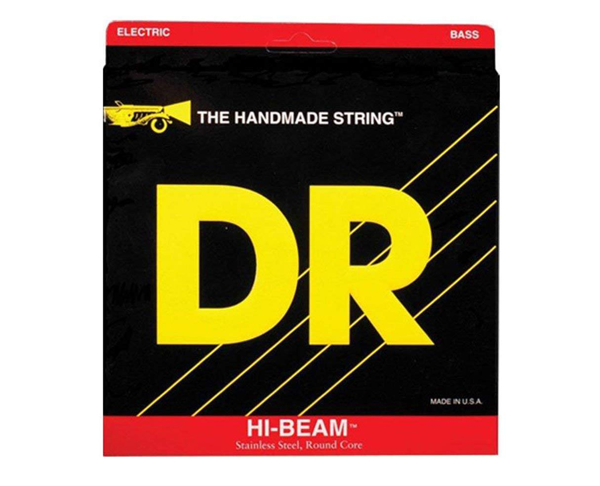 DR Strings MLR-45 Medium-Lite Hi-Beam Stainless Steel Electric Bass Guitar Strings