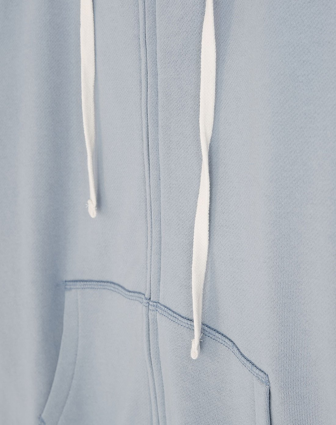 Character Rope Hooded Light Grey Hoodie Lady