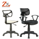 ZX foshan factory plastic swivel height adjustable spare parts high back office chair components accessories kit