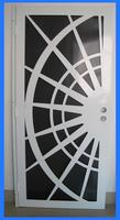 iron pipe door design for Africa and South America