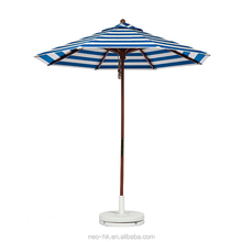 Outdoor patio round umbrella big parasol outdoor folding garden umbrellas with base stand