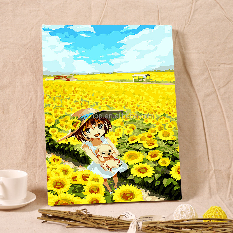 Free Mind Free Painting diy painting by numbers for kids creative painting toy