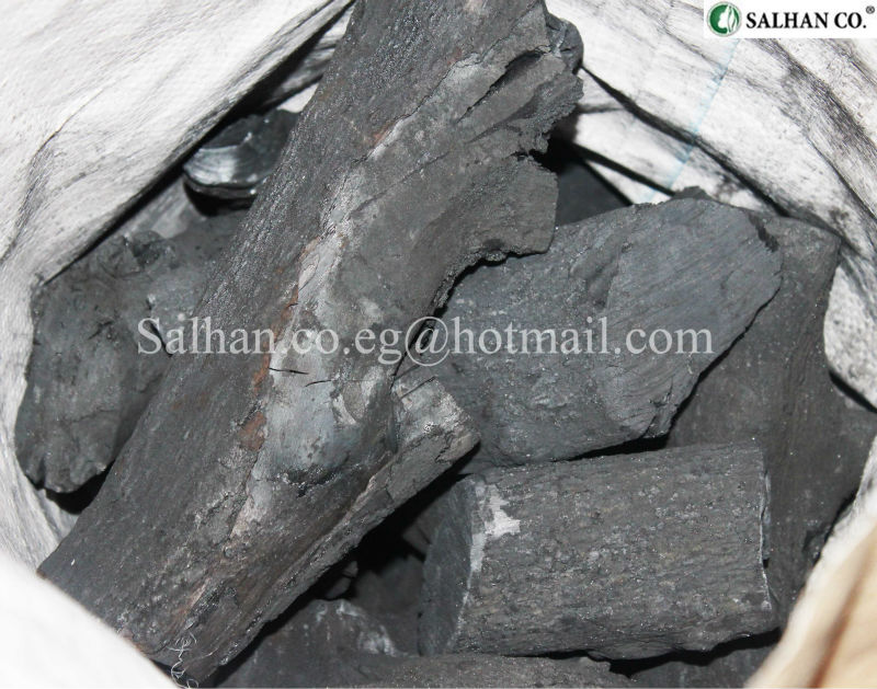 WOOD CHARCOAL FROM LEMON TREES
