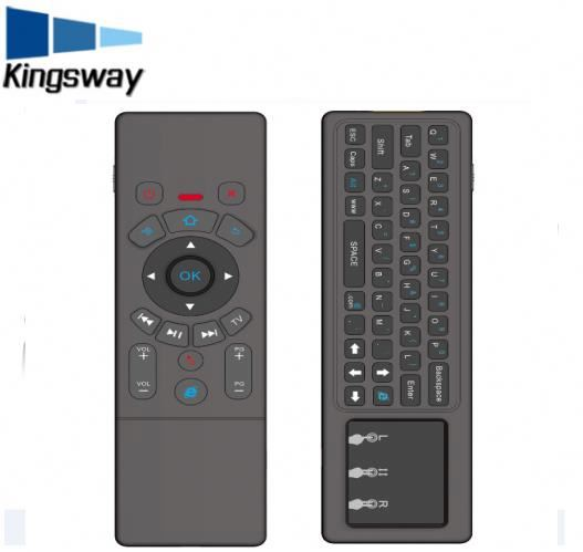 2017 Latest wireless keyboard for android tv box rii t6 keyboard tv keyboard video game