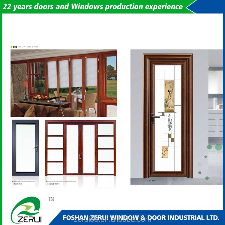 Home standard washroom door competitive price glass toilet door