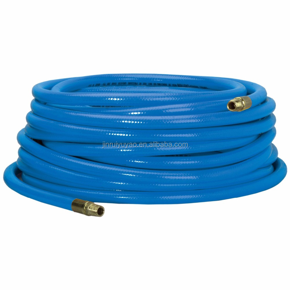 "1/2""(16mm*12mm) PVC Flexible Twins Welding Air hose made in china low price corrosion resistance pvc hose"