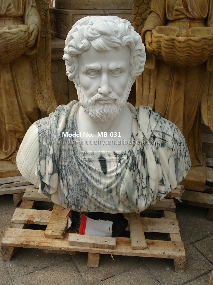 Famous Hand Carved Marble Stone Busts sculpture