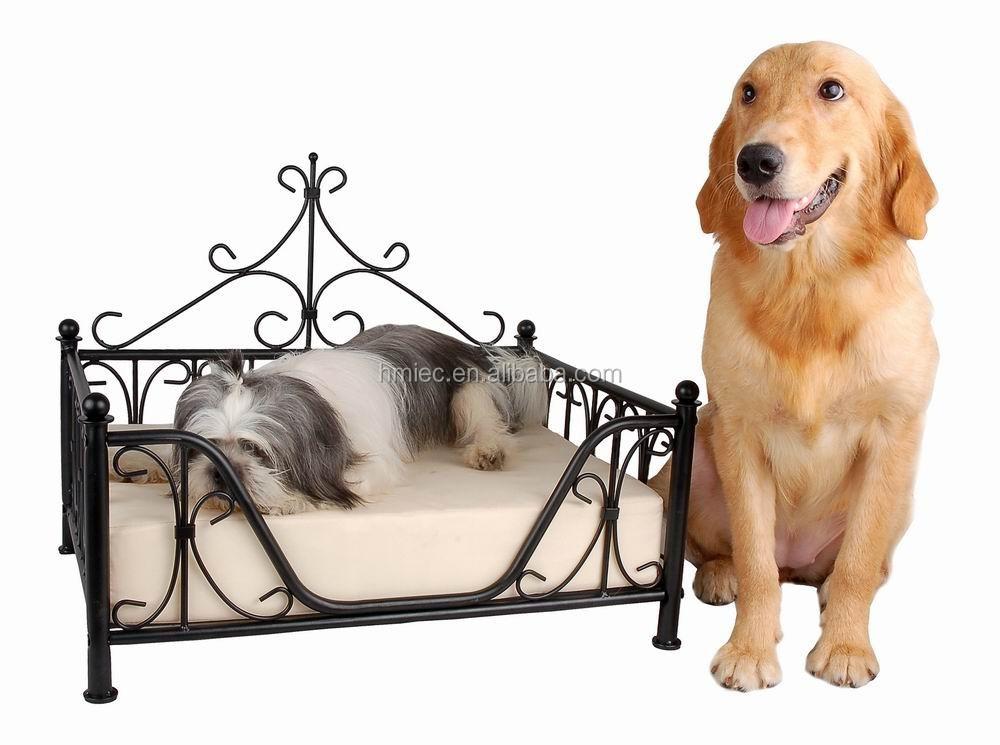 belle lit pour chien en fer forgé conception,pas cher cadre