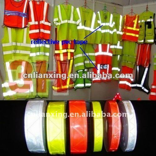 Reflective Pvc Tape for Safety Vest
