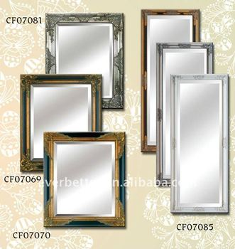 Antik Seni Dekorasi Indah Gi Panjang Menggantung Hiasan Dinding Cermin