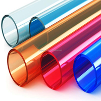 clear high transparent acrylic tube