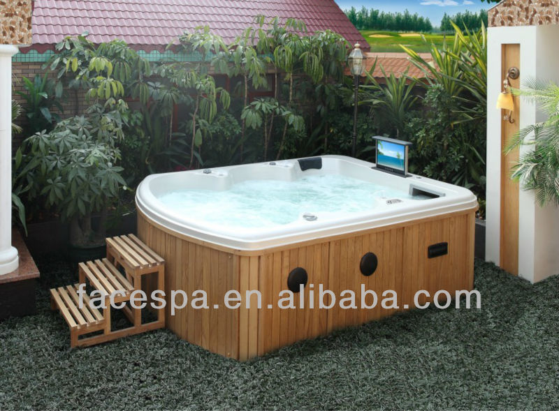 Luxury Hydrotherapy Massage Bathtub with TV
