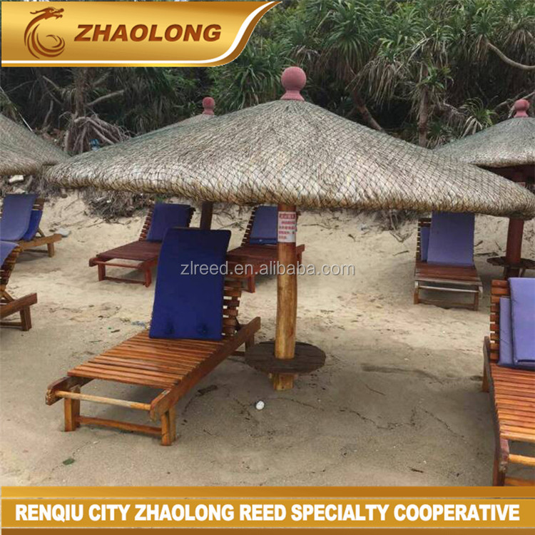 Handmade thatched beach umbrellas with beautiful price