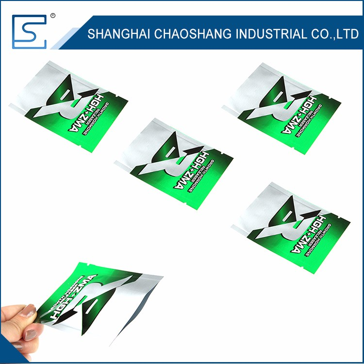 Latest Model With Good Price Packaging Plain Pouch Aluminum Foil Bag