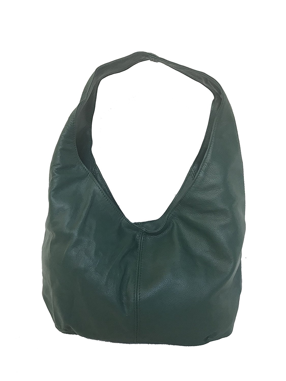 42fe8dfe22 Get Quotations · Fgalaze Hunter Green Leather Hobo Bag Purse