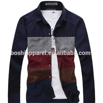 f2d8d120b33c Custom Design Casual Shirts For Boys Of 3/4 Sleeve Shirt - Buy New ...
