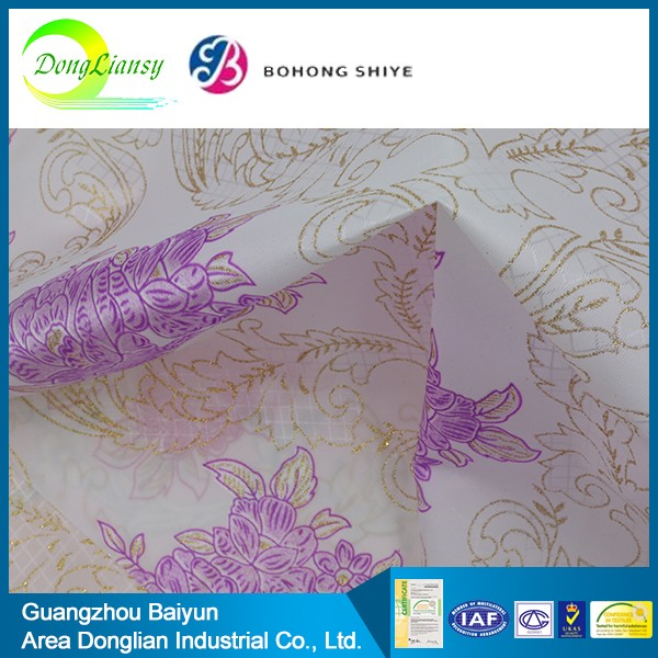 100 bamboo polyester waterproof breathable fabric