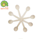 best selling products customized individually paper wrapped wooden cutlery