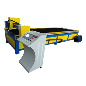 Rectangular pipe CNC plasma cutting machine for air duct tube