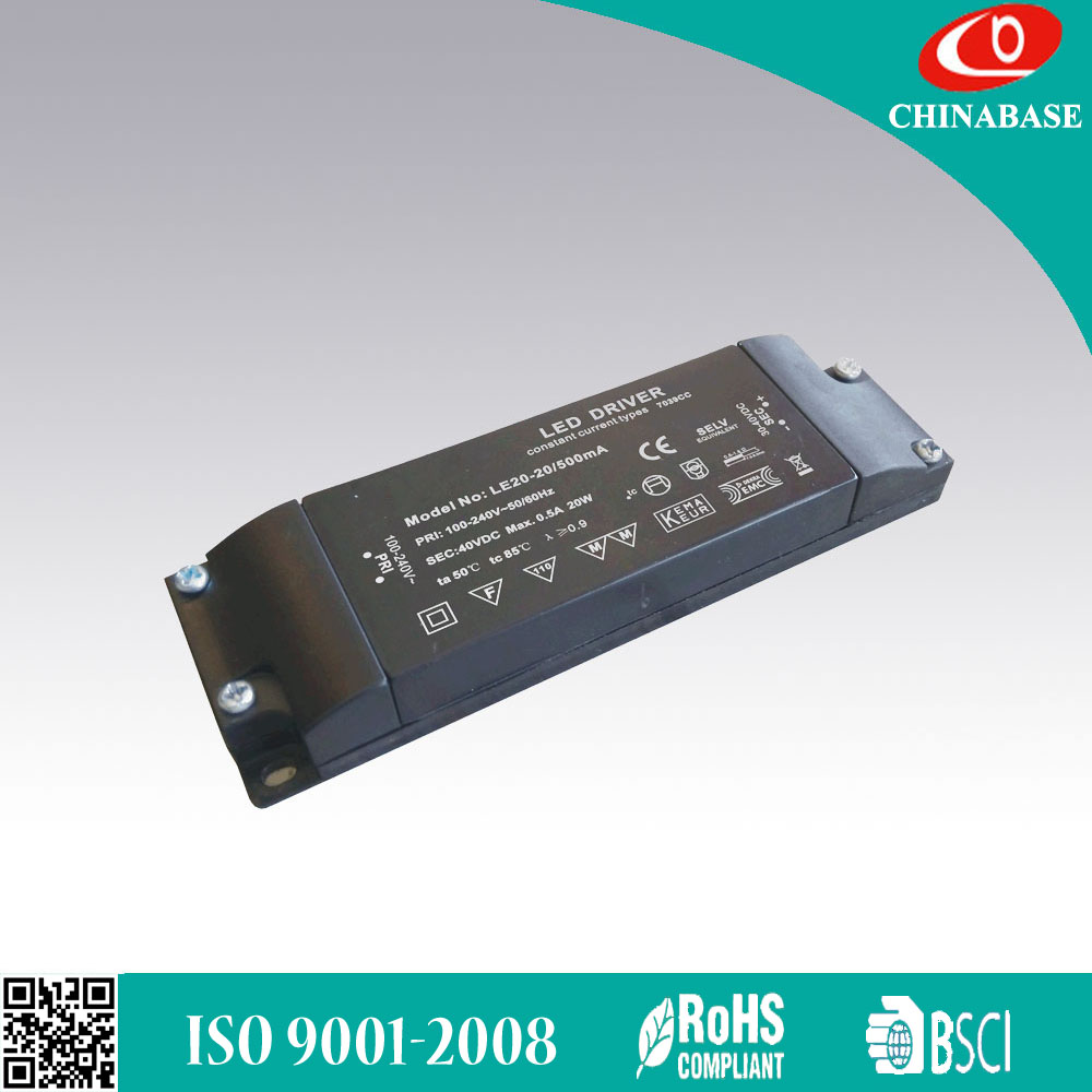 Constant current version leading edge/trailing edge dimmable LED driver