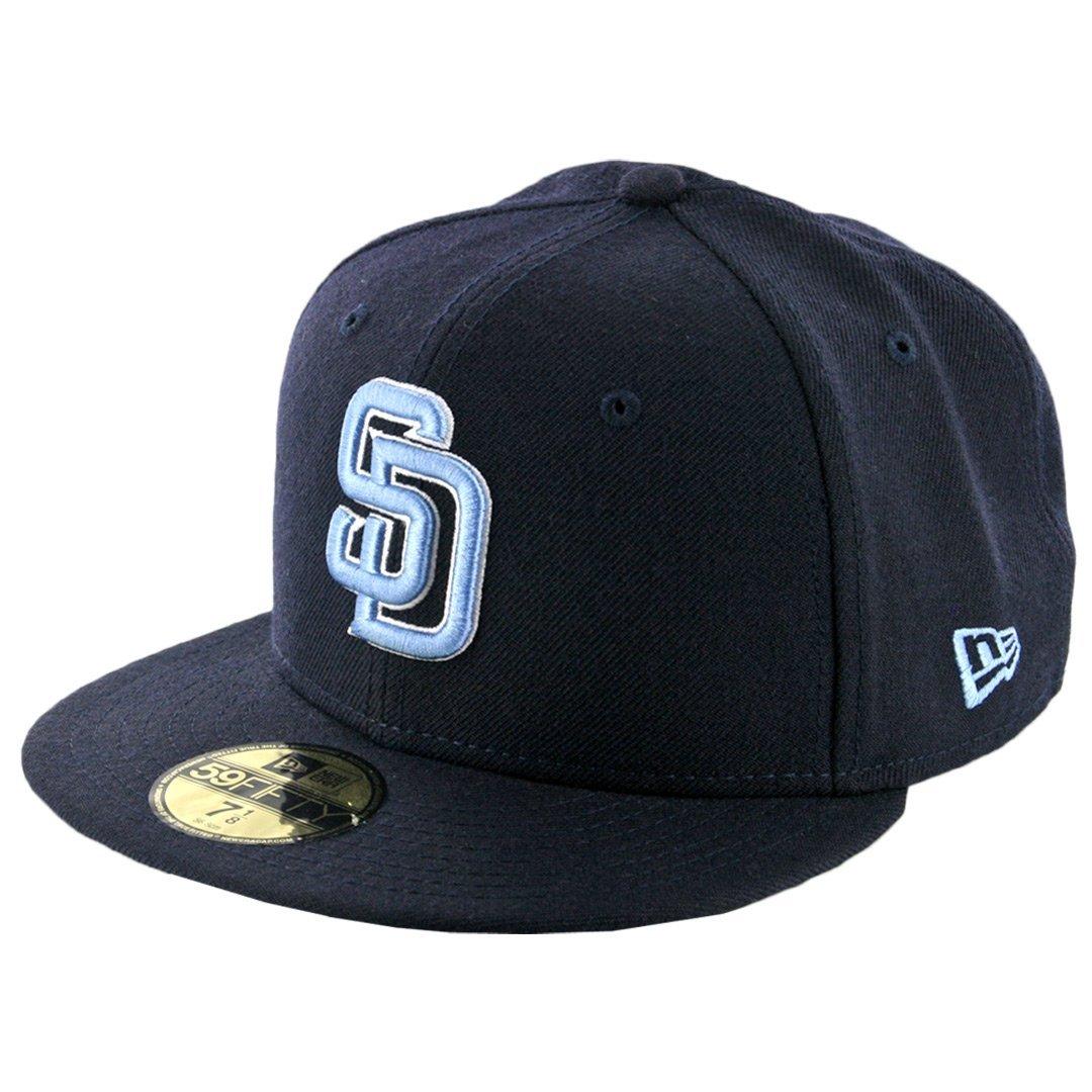 """New Era 59Fifty San Diego Padres /""""Flawless Gwynn/"""" Fitted Hat Cap Dark Navy"""