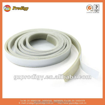 brown Anti collision self adhesive rubber strip