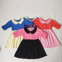 New coming boutique clothing for kids princess fancy dresses for baby girl