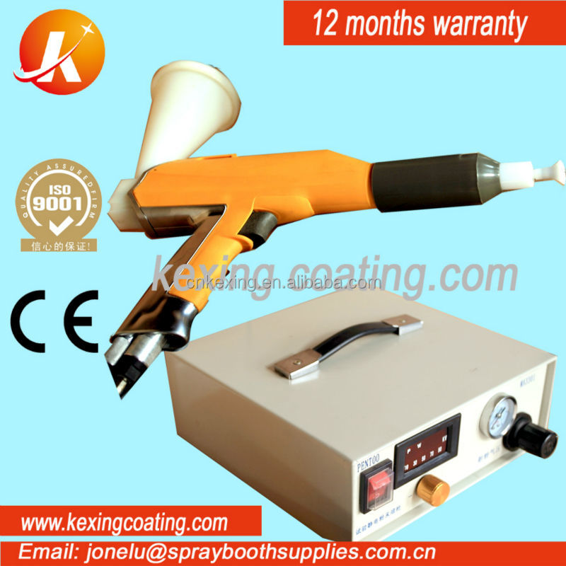 electrostatic powder coating test gun buying