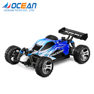 Wholesale SUV red blue item 2.4G 1:18 racing toy nitro rc car for kids