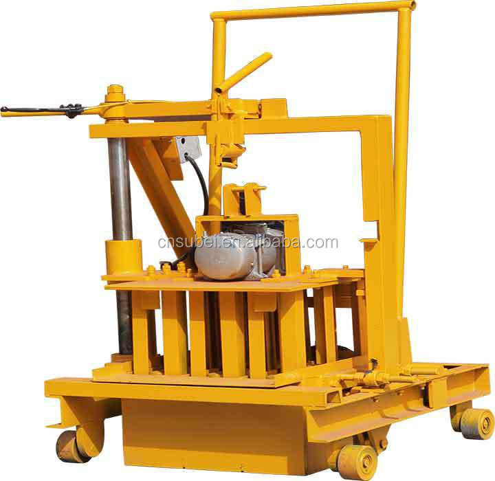 High quality mini cement brick making machine