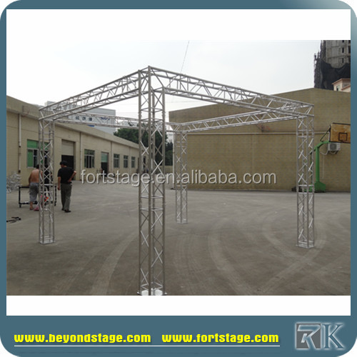 Portalbe dj truss used aluminum truss trade show booth