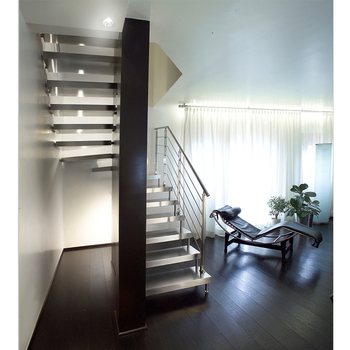 Indoor Stainless Steel Stair Railing Design
