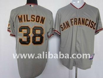 online retailer f2c0f 0f535 Baseball & Softball Wear San Francisco Giants #38 Wilson Grey Cool Base  Jersey - Buy Embroidered Baseball Patch Product on Alibaba.com