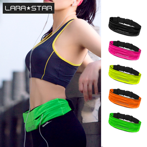 Factory direct sale adjustable fashion outdoor running belt and running waist pack belt bag custom accepted